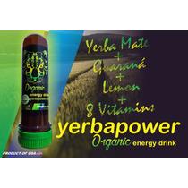 Yerbapower Organic Yerba Mate Energy Drink