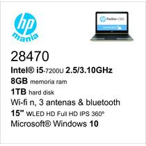 Nb Hp I5/8gb/1tb/wifi/15 Full Hd Ips/360º Tablet