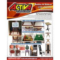 Muebles Personalizables Mesa, Silla, Escritorio En Gral.