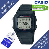 Reloj Casio W800h Original Nuevo En Caja (delivery Gratis)