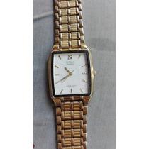 Reloj Citizen Antiguo Bañado En Oro