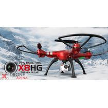 Drone Syma X8hg Rc -control De Altura Cámara De 8 Mega