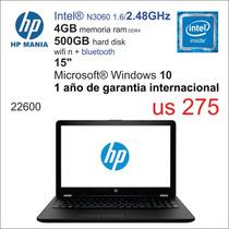 Notebook Hp Dc/4gb/500hd/14  Español