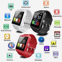 Reloj Smart Watch - Mod U8 - Color Blanco