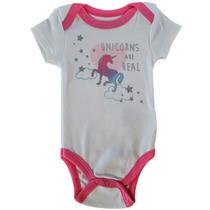 Body Unicornio Bebé - Tallas 0-3/3-6 - Quiltex - 100%algodón