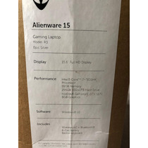 Alienware 15.6'' Core I7-7820 Gtx 1070 Laptop, 1 Tb Hdd & 25