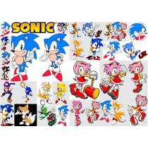 Kit Imprimible Sonic Fiesta 3x1