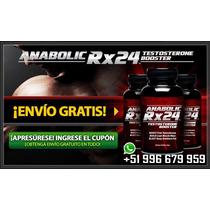 Anabolic Rx24 Ganar Masa Muscular Y Testosterona Natural