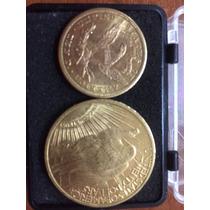 Moneda Norte Americana Antiguo Doble Aguila