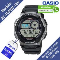 Reloj Casio Ae-1000w Nuevo (delivery - Envíos Al Interior)