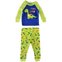 Pijama Dinosaurio Bebé - Sleepwear - Talla 9m - 100% Algodón