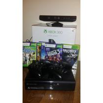 Xbox 360 250gb Kinect 2 Controles Y 5 Juegos